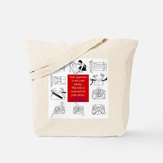 True Enemy Tote Bag