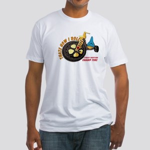 Thats How I Roll Street Drifting Fitted T-Shirt