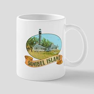 Sanibel Lighthouse - Large Mugs
