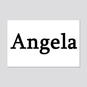 Angela - Personalized Mini Poster Print