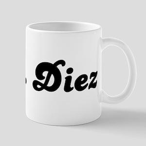 Mrs. Diez Mug