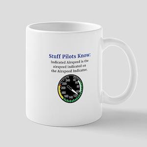 Stuff Pilots Know Indicated Airspeed Novelty Mugs