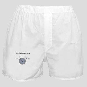 Stuff Pilots Know Magneto Switch Boxer Shorts