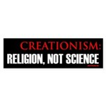 Creationism, religion, not science