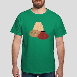 Clay Pots Dark T-Shirt