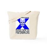 Pirate News Tote Bag