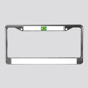 FOR BRAZIL License Plate Frame