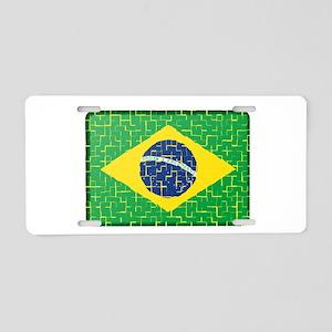FOR BRAZIL Aluminum License Plate