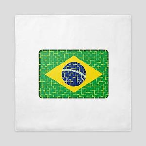 FOR BRAZIL Queen Duvet