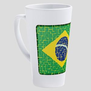FOR BRAZIL 17 oz Latte Mug