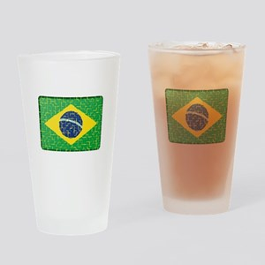 FOR BRAZIL Drinking Glass