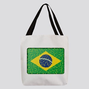FOR BRAZIL Polyester Tote Bag