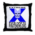 Pirate News Throw Pillow