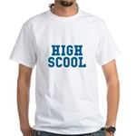 High Scool White T-Shirt