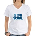 High Scool Women's V-Neck T-Shirt