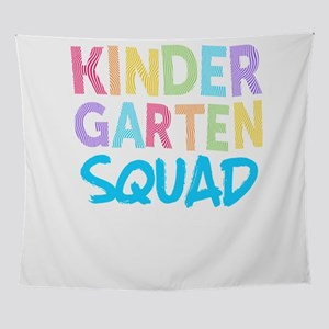 Kindergarten Squad Blue Light Cute Wall Tapestry