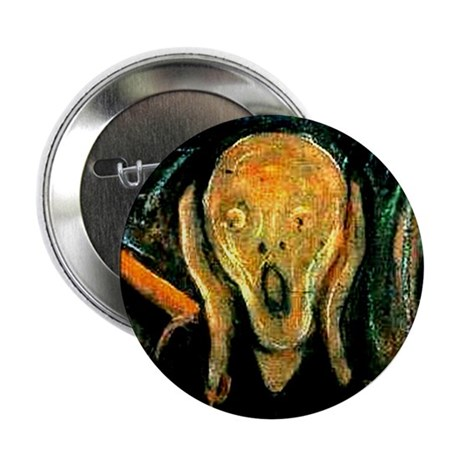 """Munch's The Scream 2.25"""" Button (10 pack)"""