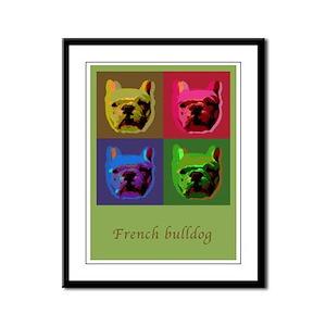 French Bulldog Framed Panel Print