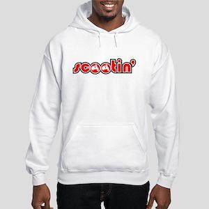 Scootin' Scooter Hooded Sweatshirt