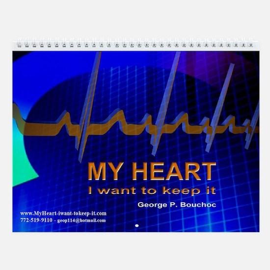 Cute Cardiac Wall Calendar