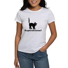 Superstitious Women's T-Shirt