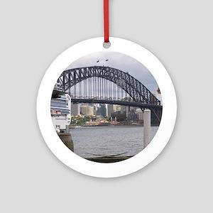 Sydney Harbor Bridge Photo Round Ornament