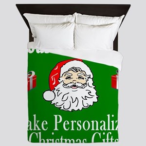 Make Pesonalized Christmas Gifts Queen Duvet