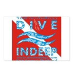 Dive Indeep Postcards (Package of 8)