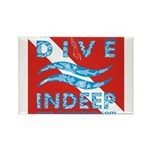 Dive Indeep Rectangle Magnet (100 pack)