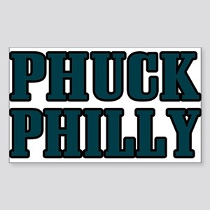 Phuck Philly 1 Rectangle Sticker