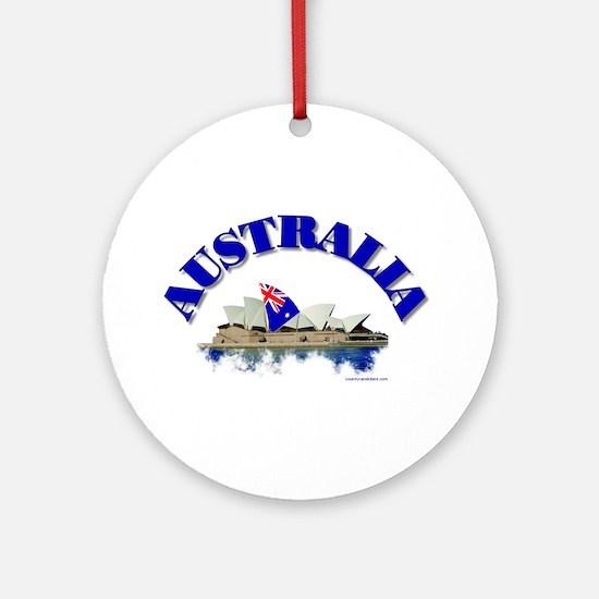 Sydney Opera House Ornament (Round)