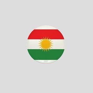 Kurdish Flag Mini Button