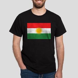 Kurdish Flag Dark T-Shirt