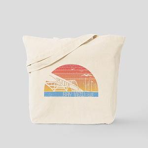 Vintage Bay View Tote Bag