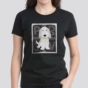 Grey & White PBGV T-Shirt