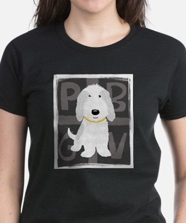 Grey & White PBGV T-Shirt