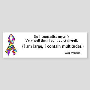 DID/MPD Awareness bumper sticker-