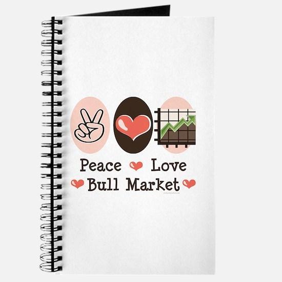 Peace Love Bull Market Journal