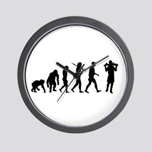 Waiter Evolution Wall Clock