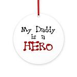 Daddy Hero Ornament (Round)