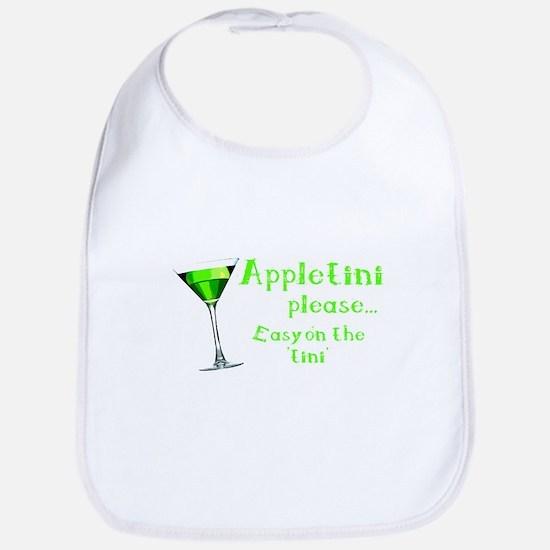 Appletini please... easy on the 'tini' Bib