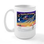 XmasSunrise/Border Ter Large Mug
