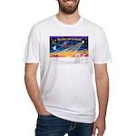 XmasSunrise/Bichon #2 Fitted T-Shirt