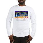 XmasSunrise/Bichon #2 Long Sleeve T-Shirt