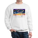 XmasSunrise/Bichon #2 Sweatshirt