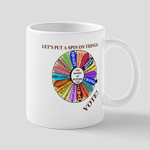THE WHEEL OF FUTURE Mug
