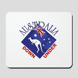 Australia Down Under Mousepad