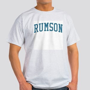 Rumson New Jersey NJ Blue Light T-Shirt
