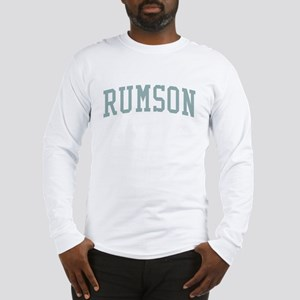 Rumson New Jersey NJ Green Long Sleeve T-Shirt