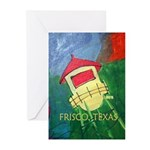 Poster-FriscoWaterTower Greeting Cards